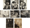 "Movie/TV Memorabilia:Photos, A Group of Black and White Stills from ""Bringing Up Baby.""..."