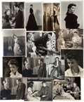 Movie/TV Memorabilia:Photos, A Katharine Hepburn Group of Rare Black and White Photographs,1930s-1940s....