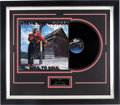Music Memorabilia:Autographs and Signed Items, Stevie Ray Vaughan Signed Album Cover In Frame (1990)....