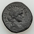 Ancients:Roman Provincial , Ancients: CILICIA. Corycus. Tiberius (AD 14-37). Æ 26mm (12.95gm)....
