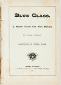 Books:Americana & American History, John Carboy, Tom Wonder, et al. Blue Glass: A Sure Cure for the Blues, The Dry Goods Drummer and ...