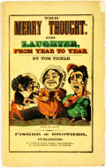 Books:Americana & American History, Tom Tickle. The Merry Thought of Laughter From Year to Year. Philadelphia: Fisher & Brother, [circa 1850]. Octav...