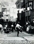 Books:Prints & Leaves, [New York City]. Lewis H. Hine. Oversize Full Bleed ReprintPhotograph of New York City Children Playing Baseball. Reprinted...