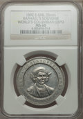 Expositions and Fairs, 1893 World's Columbian Exposition, Raphael's Souvenir, MS60 NGC. Rulau-IL-Chi-141....