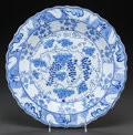 Asian:Other, AN ISMAIL YIGIT TURKISH FRITWARE PLATE, Kütahya, Turkey, late 20thcentury. Marks: Ismail Yigit, Kütahya, 313. 16 inches...(Total: 2 Items)