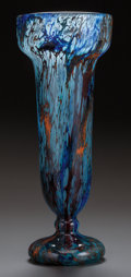 Art Glass:Schneider, SCHNEIDER GLASS VASE, circa 1920. Engraved: Schneider,France. 14-3/4 inches high (37.5 cm). ...