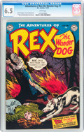 Golden Age (1938-1955):Miscellaneous, Adventures of Rex the Wonder Dog #1 (DC, 1952) CGC FN+ 6.5 White pages....