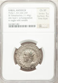 Ancients:Roman Provincial , Ancients: SYRIA. Antioch. Philip I (AD 244-248). BI tetradrachm(11.44 gm). ...