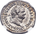 Ancients:Roman Imperial, Ancients: Titus (AD 79-81). AR denarius (19mm, 3.52 gm,2h).  ...