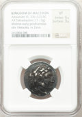 Ancients:Greek, Ancients: MACEDONIAN KINGDOM. Alexander III the Great (AD 336-323).AR tetradrachm (17.13 gm). ...