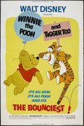 "Movie Posters:Animated, Winnie the Pooh and Tigger Too (Buena Vista, 1974). Poster (40"" X60""). Animated Musical. Starring the voices of Sebastian C..."