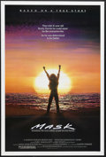 """Movie Posters:Drama, Mask (Universal, 1985). One Sheet (27"""" X 41""""). Drama. Starring Cher, Sam Elliott, Eric Stoltz and Estelle Getty. Directed by..."""