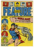 Golden Age (1938-1955):Superhero, Feature Comics #93 Mile High pedigree (Quality, 1945) Condition: NM. Unusual Doll Man cover. Overstreet 2006 NM- 9.2 value =...