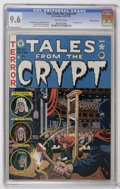 Golden Age (1938-1955):Horror, Tales From the Crypt #27 Gaines File pedigree 1/12 (EC, 1951) CGCNM+ 9.6 Off-white pages. Before Jack Davis began his long ...