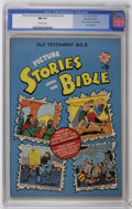 Golden Age (1938-1955):Religious, Picture Stories from the Bible - Old Testament Edition #2 GainesFile pedigree 4/12 (EC, 1946) CGC NM 9.4 Off-white pages. T...