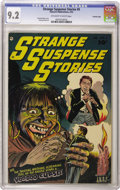 Golden Age (1938-1955):Horror, Strange Suspense Stories #5 Crowley Copy pedigree (Fawcett, 1953)CGC NM- 9.2 Off-white to white pages. Bernard Baily provid...