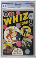 Whiz Comics #77 Crowley Copy pedigree (Fawcett, 1946) CGC NM+ 9.6 Cream to off-white pages. C. C. Beck cover. George Tus...
