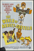 "Movie Posters:Comedy, The World of Abbott and Costello (Universal, 1965). One Sheet (27"" X 41""). Comedy. Starring Bud Abbott, Lou Costello, Nat Pe..."