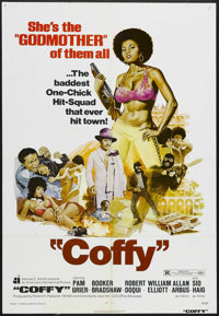 "Coffy (American International Pictures, 1973). One Sheet (27"" X 41""). Blaxploitation. Starring Pam Grier, Book..."