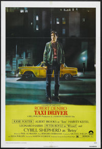 "Taxi Driver (Columbia, 1976). One Sheet (27"" X 41""). Crime. Starring Robert De Niro, Cybill Shepherd, Peter Bo..."