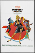 """Movie Posters:Action, Modesty Blaise (20th Century Fox, 1966). One Sheet (27"""" X 41"""").Action. Starring Monica Vitti, Terence Stamp, Dirk Bogarde a..."""