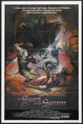 "Movie Posters:Fantasy, The Sword and the Sorcerer (Group 1, 1982). One Sheet (27"" X 41"")Style B. Fantasy. Starring Lee Horsely, Kathleen Beller an..."