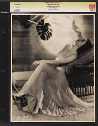 "Tallulah Bankhead - Lost Hollywood Collection (Paramount). Still (11"" X 14""). Tallulah Bankhead as photographe..."
