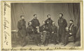 Photography:CDVs, General Sherman and his Generals Carte de Visite. General Sherman was an accomplished general for the Union during the C...