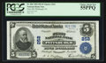 National Bank Notes:Pennsylvania, Pittsburgh, PA - $5 1902 Plain Back Fr. 606 The Second NB Ch. #252. ...