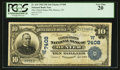 National Bank Notes:Colorado, Denver, CO - $10 1902 Plain Back Fr. 624 The United States NB Ch. #(W)7408. ...