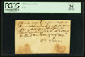 Miscellaneous:Other, 1755 Promissory Note 7s 2d PCGS Apparent Very Fine 30.. ...