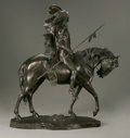 Sculpture, Charles Henry Humphriss (American, 1867-1934). Indian Chief on Horseback. Bronze. 25.25in. x 22in. x 8.5in.. Signed on base... (Total: 1 Item Item)