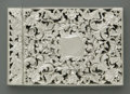Silver Smalls:Other , An English Silver Calling Card Case. Taylor & Perry,Birmingham, England, 1845. The reticulated hinged top case,hallm...