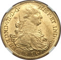 Colombia, Colombia: Ferdinand VII gold 8 Escudos 1816 NR-JF MS62 NGC,...