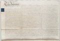 Miscellaneous:Ephemera, Land Indenture in the Reign of King George IV....