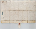 Miscellaneous:Ephemera, Land Indenture in the Reign of Queen Anne....