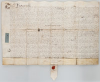 Land Indenture in the Reign of Queen Anne