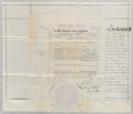 Miscellaneous:Ephemera, Document in the Reign of Queen Victoria....