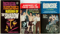 Books:Mystery & Detective Fiction, [Rocky Graziano, Jim Thompson, Walter B. Gibson]. Group of ThreeMass Market Paperbacks. Various publishers, [1956-1967]. On...(Total: 3 )