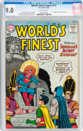 Silver Age (1956-1969):Superhero, World's Finest Comics #111 (DC, 1960) CGC VF/NM 9.0 Off-white pages....