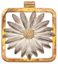 Estate Jewelry:Pendants and Lockets, Silver, Gold Pendant, Tiffany & Co.. ...