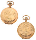 Timepieces:Pocket (post 1900), Two Waltham's Hunter Case Pocket Watches. ... (Total: 2 Items)