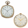 Timepieces:Pocket (post 1900), Two Elgin 12 Size Pocket Watches. ... (Total: 2 Items)