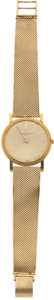 Golf Collectibles:Medals/Jewelry, 1961 Swiss Made Gold Watch From Sam Snead's Wife Audrey....