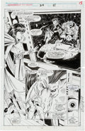 Original Comic Art:Splash Pages, Jim Valentino and Steve Montano Guardians of the Galaxy #22Splash Page 11 Original Art (Marvel, 1992)....