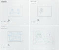 Animation Art:Production Drawing, King of the Hill Production Drawing Animation Art Group(Fox, 1997-2010).... (Total: 10 Original Art)