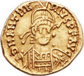 Ancients:Roman Imperial, Ancients: Anthemius, Western Roman Emperor (AD 467-472). AV solidus (21mm, 3.66 gm, 6h)....