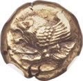 Ancients:Greek, Ancients: LESBOS. Mytilene. ca. 521-478 BC. EL hecte (10mm, 2.56gm, 11h)....