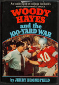 "Football Collectibles:Publications, Woody Hayes ""Yea Ohio!"" Signed ""Woody Hayes and the 100-Yard War"" Hardcover Book...."