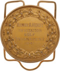 Golf Collectibles:Medals/Jewelry, 1941 Henry Hurst Invitational Winners Medal From The Sam SneadCollection....